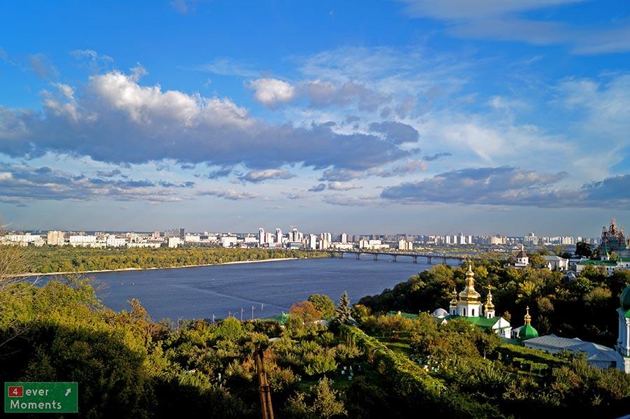 Panorama nad Dnieprem