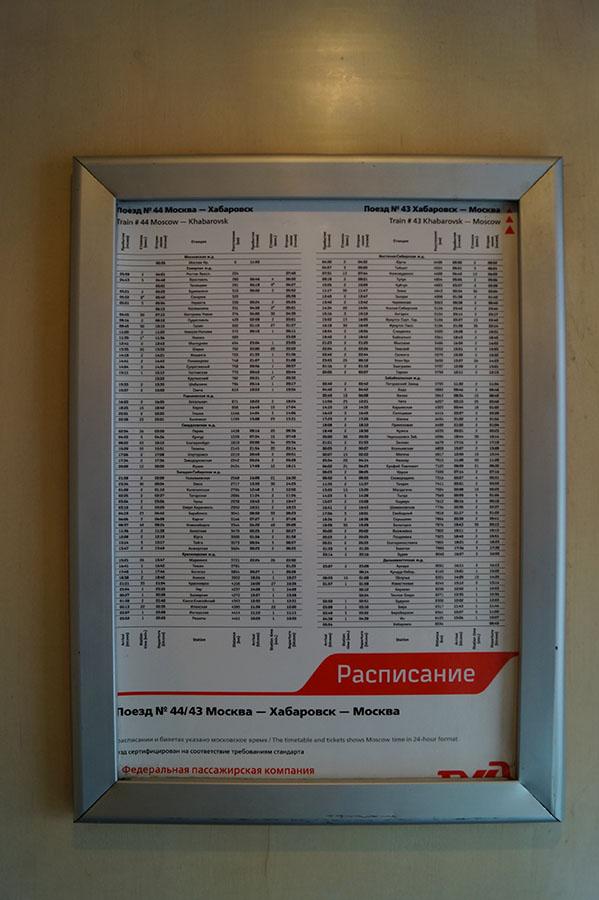 Rozpiska stacji