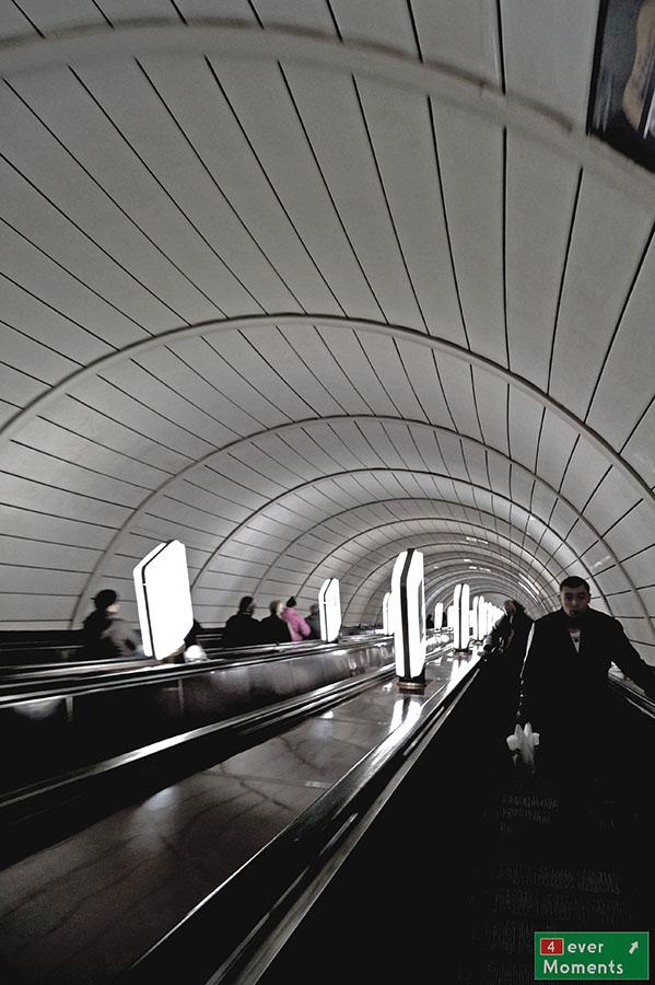 Schody metro