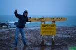 Slope Point, najbardziej wysunięty na południe punkt Południowej Wyspy