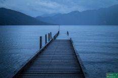 ...oto i ono: najgłębsze jezioro Nowej Zelandii- Hauroko :)