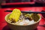 Bufet otwarty jest dwa razy dziennie: od 11:30-13:00 i 17:30-19:00. Żeby trafić na miejsce wystarczy zapisać na telefonie nazwę po chińsku: 然堂素食馆.